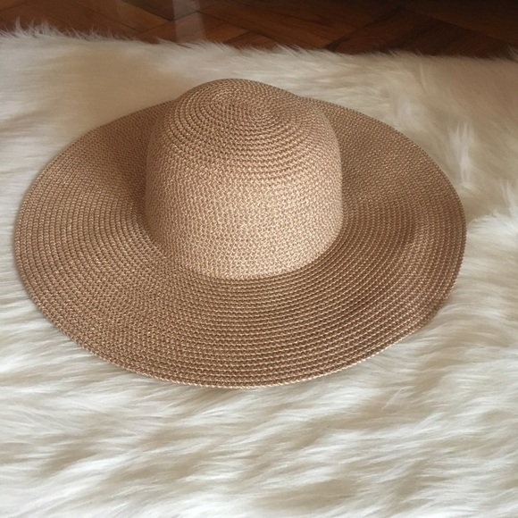 b746c002b Metallic Tan/Rose Floppy Sun Hat